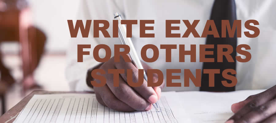 Write exam for others