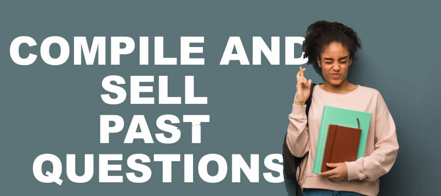 sell past questions as a Student in Nigeria
