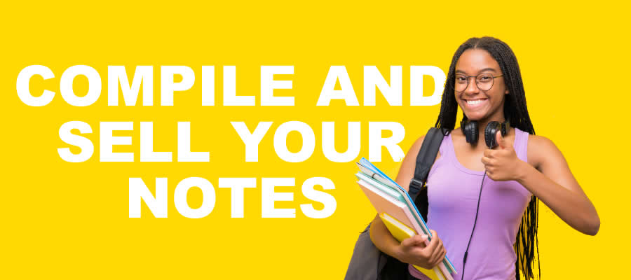 sell your notes as a Student
